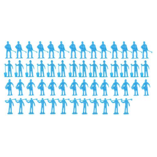Arbeiter Figur Layout Arbeiter Miniaturen Abbildung 4,5 cm für Sand