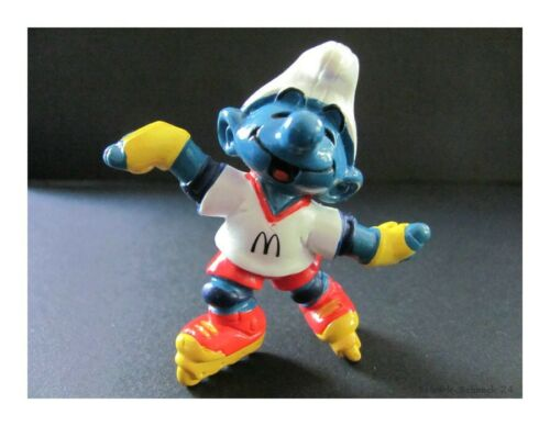 Schleich personaje los pitufos rollerskatschlumpf Pitufo #97#