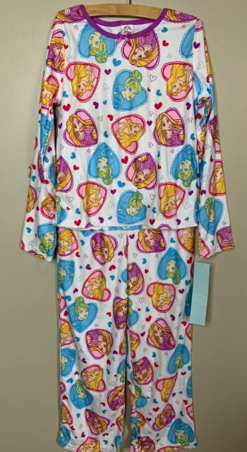 Disney Princess PAJAMAS Fleece PINK Footie Blanket SLEEPER PJs Cinderella NWT