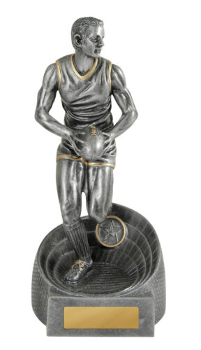 Aussie Rules Football Male Figurine 275mm Engraved FREE