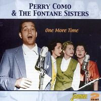 Perry Como, Perry Como & The Fontane Sisters - One More Time [new Cd] Uk - Impor on Sale