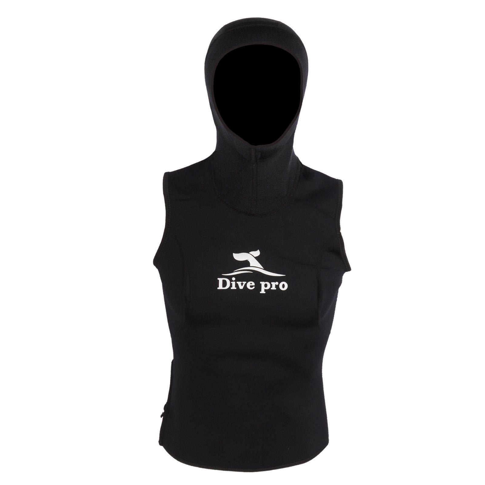Divepro Vest - 3mm Ladies Neoprene Vest with Head Cover
