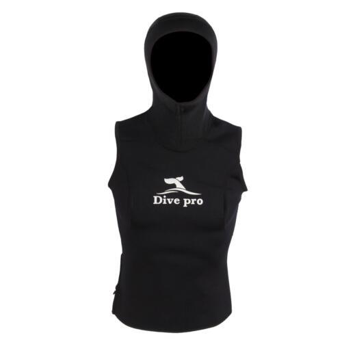 3mm Damen Neoprenweste mit Kopfhaube DivePro Vest