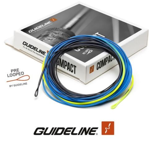 Guideline COMPACT RTG Shooting Head 3D Pre Looped * NEW 2019 Stock * Floating