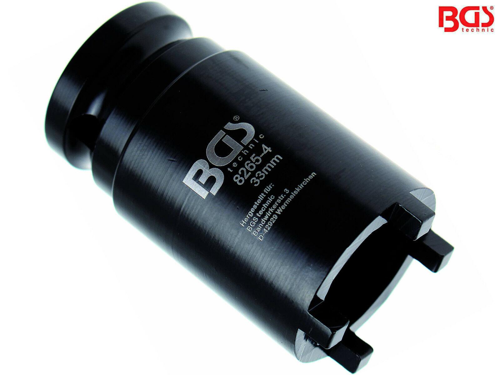 BGS Nutmutternschlüssel 33 mm Nutmutter Werkzeug KM3 Steckschlüssel Einsatz