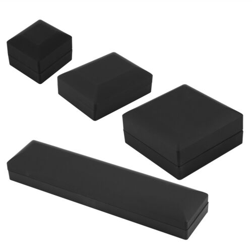 LED Lighted Ring//Pendant//Bracelet//Necklace Jewelry Display Case Gift Storage Box