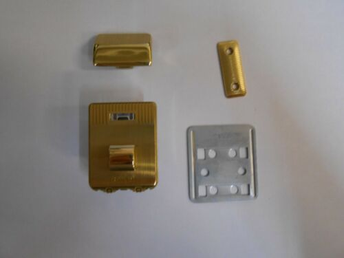 Brass Finish *All Parts* Ideal for Briefcases etc 1 x Amiet Combination Lock