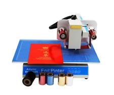 Automatic Digital Plateless Hot Stamping Machine Foil Press Printer Amd 8025