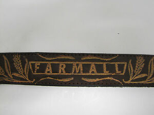 Farmall-Mens-Brown-Leather-Belt-Size-34-36-38-or-40