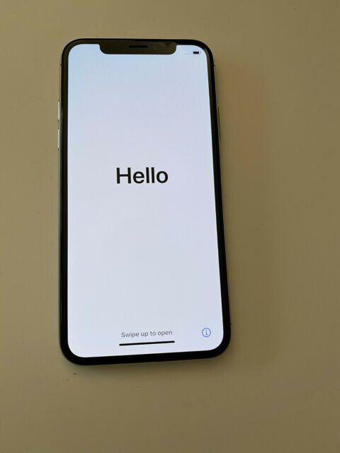 Apple iPhone X 64 Go Simlock Libre