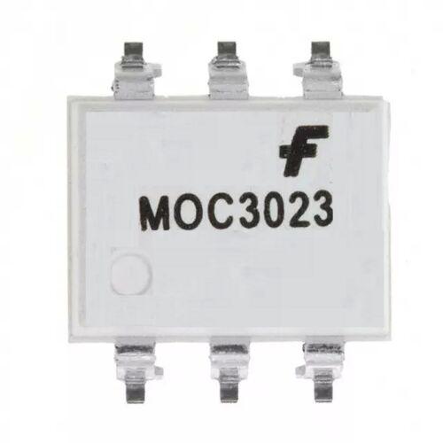 MOC3023SM  MOC3023  Fairchild  Triac Optokoppler  1-Channel  400V  SMD6 10 pcs