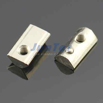 M4 M5 M6 T Roll-in T Slot Nuts Groove 6 Aluminum Accessories For 20 Series