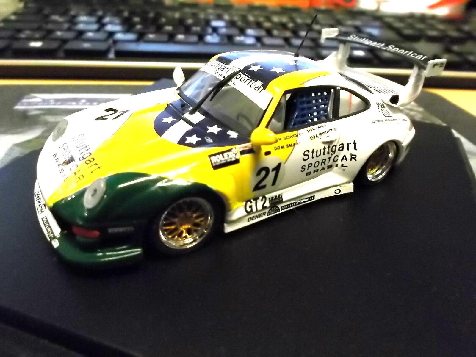 PORSCHE 911 993 GT2 EVO BPR Stuttgart Sportcar Brazil Daytona Vitesse 1 43
