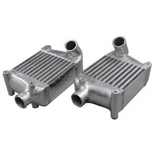 CXRacing TWin Turbo Intercooler For 1990-1996 Nissan 300ZX Aluminum Side Mount