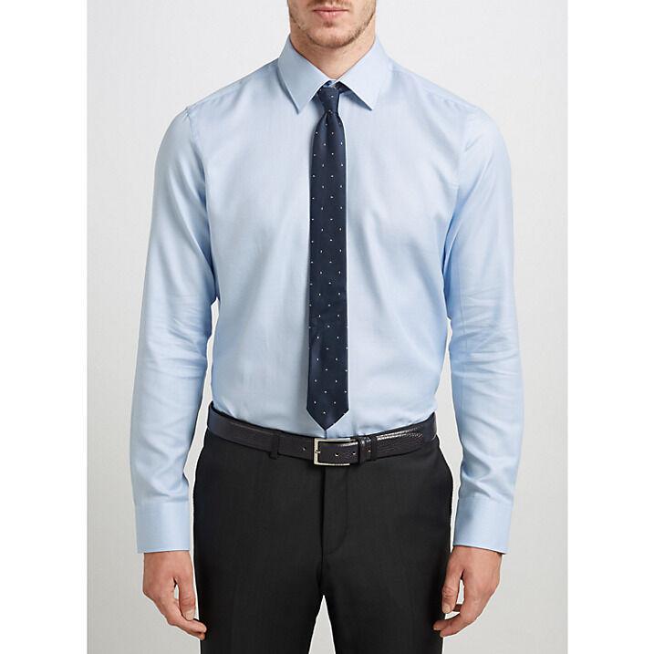 Hugo par coupe hugo boss c-enzo motif coupe par standard chemise, bleu clair 42 c17299