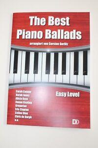 Abverkauf-Noten-Gerlitz-The-Best-Piano-Ballads-leichte-Arrangements-Klavier