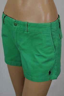 Ralph Lauren Sport Green Shorts Navy Blue Pony Logo NWT