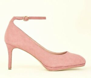 NEW LOOK SIZE 5 38 WIDE FIT PINK F