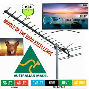 Details about tv antenna uhf Matchmaster Australian Made digital hdtvRG 6  4/5G diy 02MM GX500