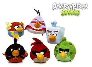 Angry-Birds-Space-Plushes-Soft-Toy-20cm-8-039-Gift-Quality-6-Assorted-Characters