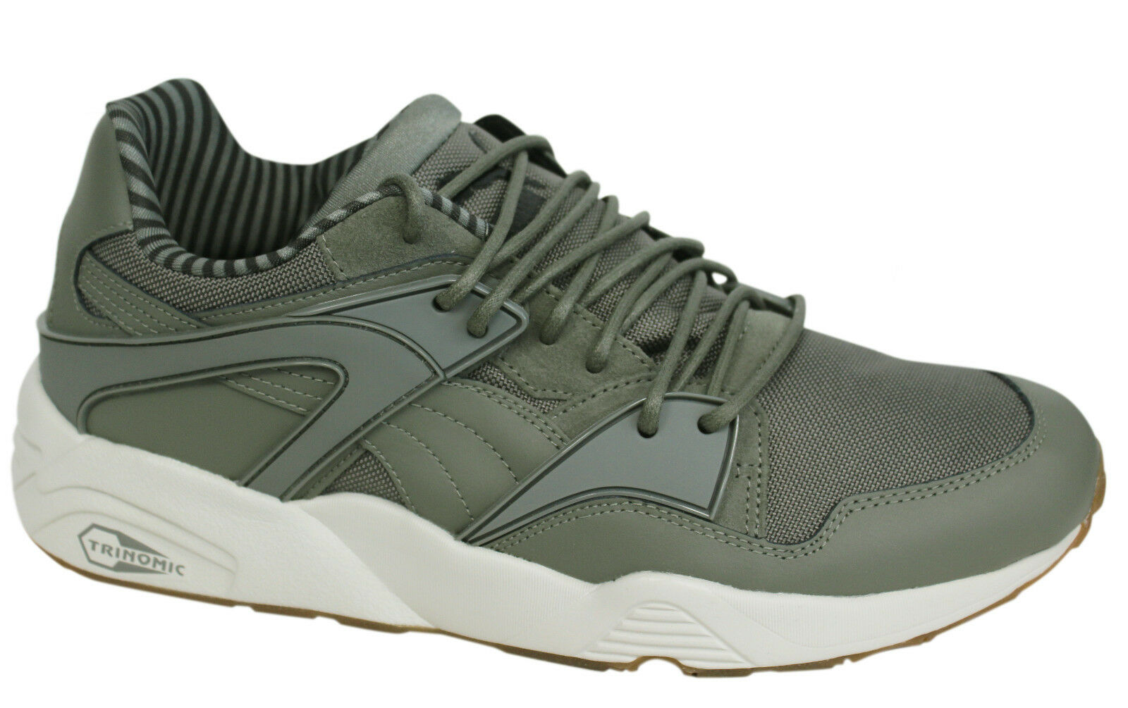 Puma Trinomic Blaze Citi Series Mens Lace Up Grey Trainers 359993 02 D126