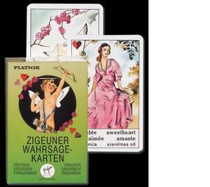 Zigeuner-Wahrsagekarten-Piatnik-Zigeunerkarten-Wahrsagen-Zukunft-deuten-NEU