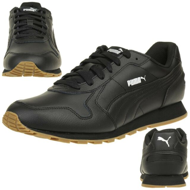 92eee751e1 PUMA St Runner Full L Trainers Shoes Men s Shoes Black 359130 08 UK ...