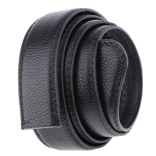 2x Ceinture pour hommes à cliquet ceinture robe bretelles Automatique Ceinture Sans Boucle