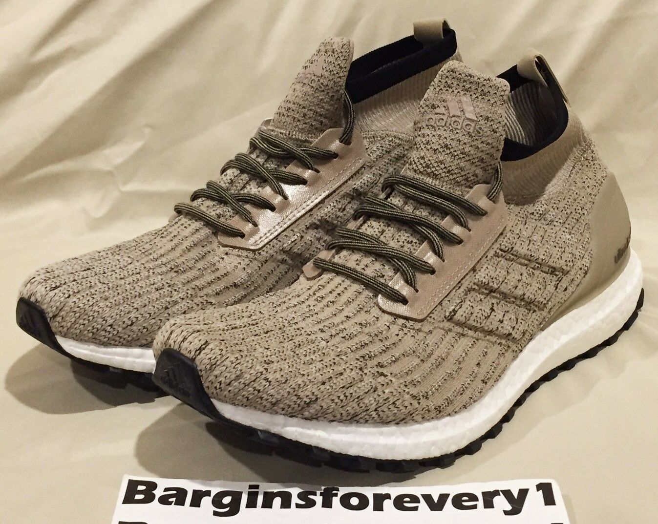 New Adidas UltraBOOST All Terrain LTD - Size 7.5 - Trace Khaki - CG3001