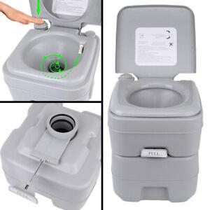 Portable-Toilet-5-Gallon-20L-Flush-porta-potty-Outdoor-Travel-Camping-WC-Caravan
