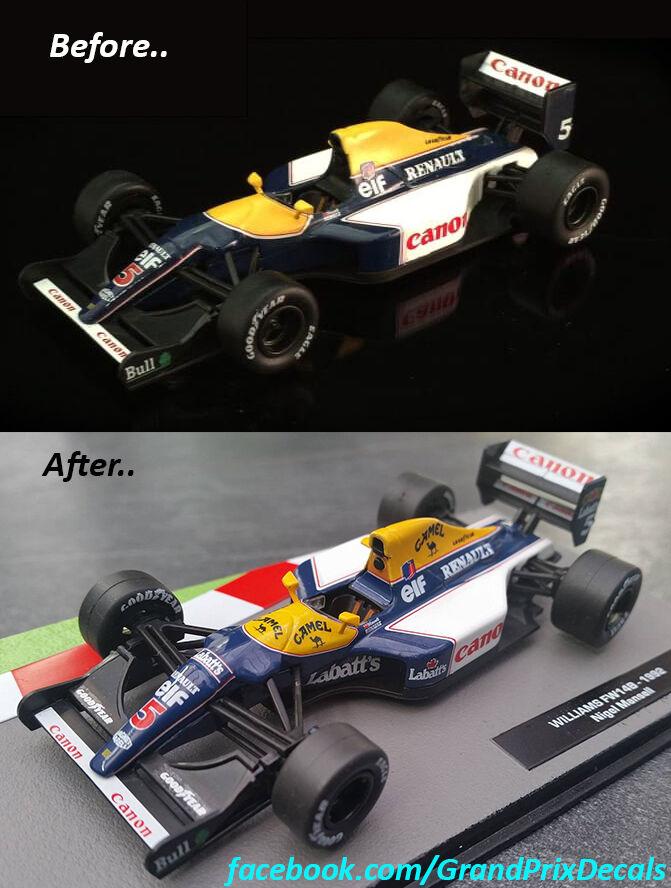 Formula 1 №4 - Williams FW15C Ален Прост (1993)