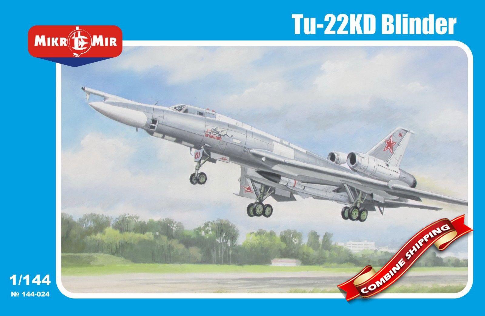 Mikro-Mir 144-024 Soviet missile-carrier Tupolev Tu-22KD Blinder 1 144