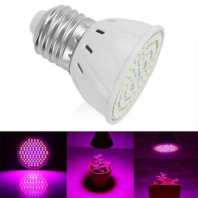 48//60//80 220V LED Grow Light E27 Lamp Bulb for Plant Hydroponic Full Spectrum XS