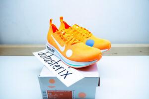 cf6c90ee9f9e Nike Off-White Zoom Fly Mercurial Total Orange White Volt Virgil ...