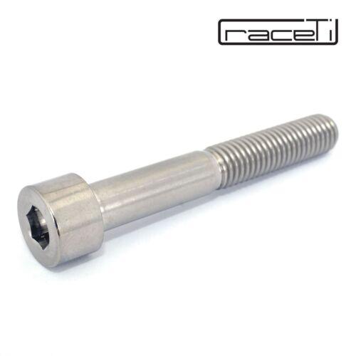 M8 65mm Titane Prise Vis à Six Pans Creux Forgé CNC Tête Ti Din 912 65 X 1,25