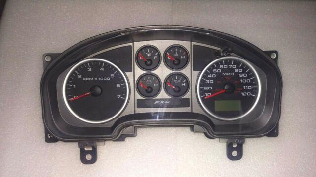 05 Ford Fx4 F150 Pickup Speedometer Instrument Cluster Dash Panel 100 977