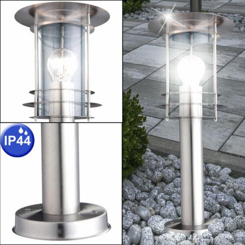 LED Außen Sockel Leuchte Garten Beleuchtung Stand Lampe Laterne Veranda Terrasse