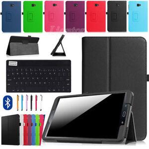 PU-Leather-Cover-Case-Bluetooth-Keyboard-For-Samsung-Galaxy-Tab-A-8-0-SM-T355Y