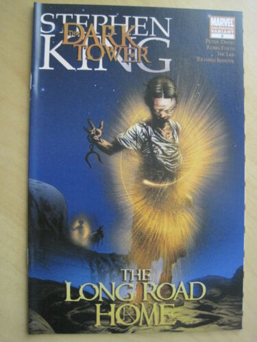 "DARK TOWER STEPHEN KING /""LONG ROAD HOME/"" issue 2 VARIANT 2nd PRINT.MARVEL.2008"