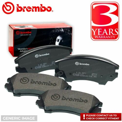 Brembo Frein Arrière Tampon Set Fits Toyota Avensis Corolla Verso P83047