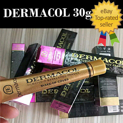 Dermacol Waterproof High Covering Concealer Make up Foundation Film Studio Cover