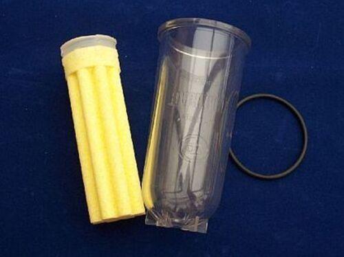 3 teiliges Umrüstset Oventrop Klarsichtfiltertasse lang Filter Magnum O Ring