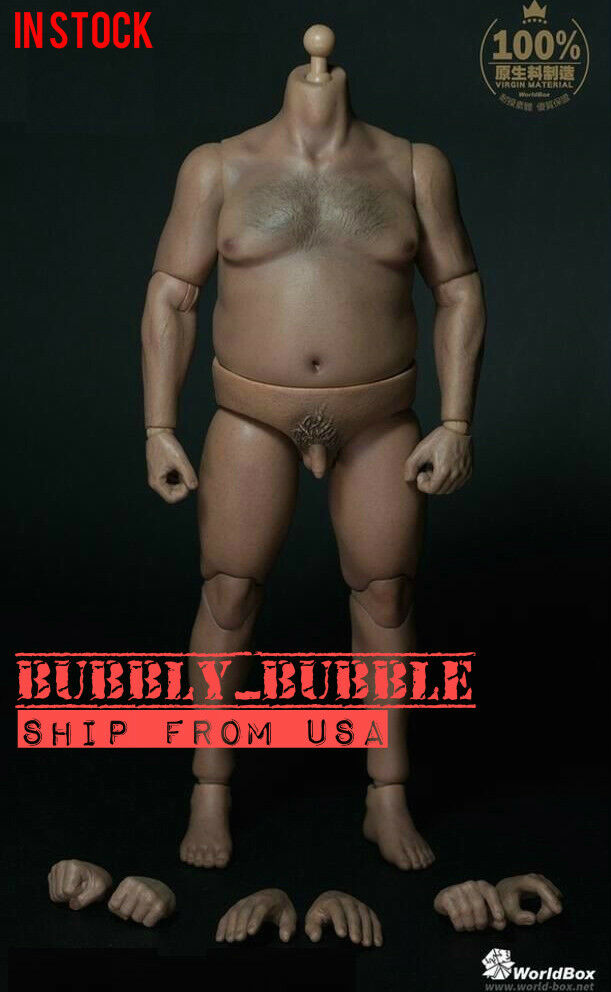 WorldBox 1 6 Durable Figure Plump Body AT018 For Hot Toys UFC WWE SHIP FROM USA