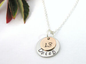 Personalised Name Necklace with Rose Gold Star Sign Zodiac Charm Gift Box