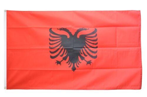 Drapeau ALBANIE Drapeau ALBANAIS Hissflagge 90x150cm