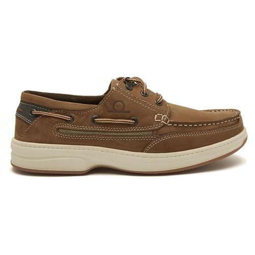 Chatham Pegasus para Hombre Marrón Con Cordones Cubierta Barco Velero zapatos