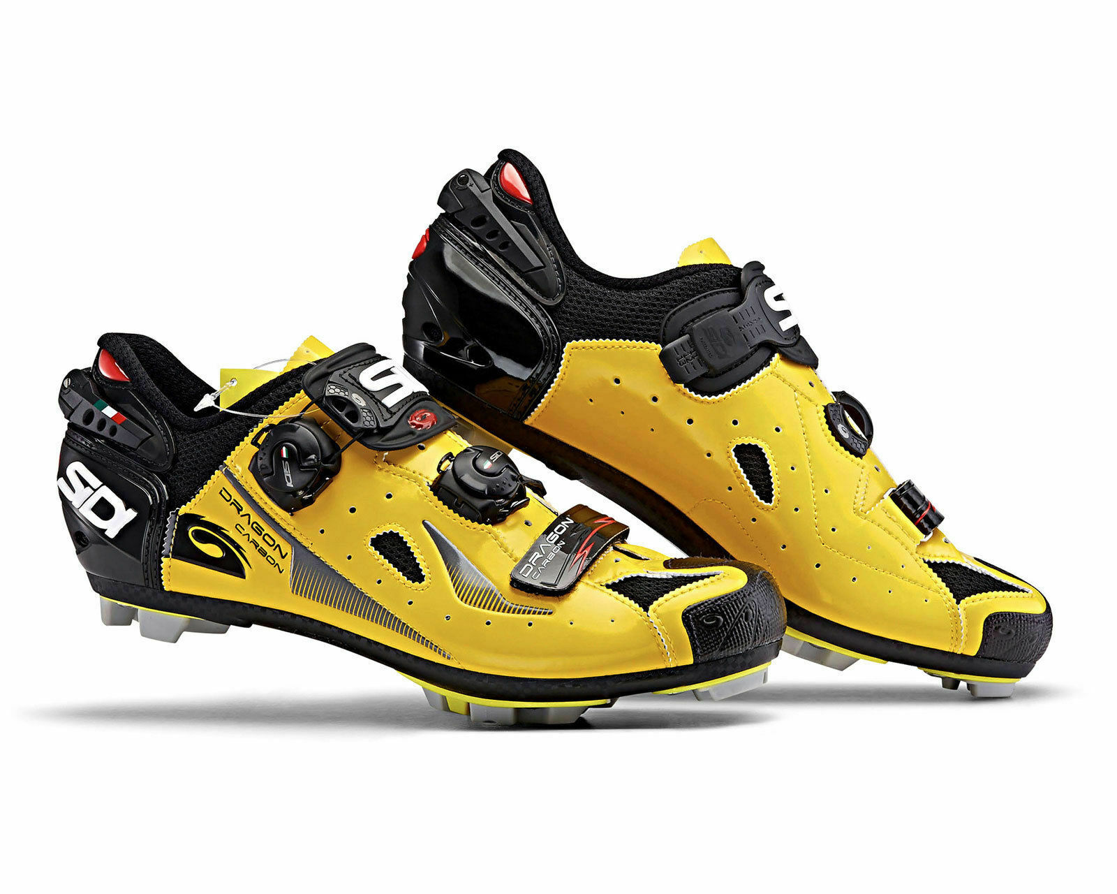 [SIDI] Dragon 4 Road Bike Bicycle Cycling scarpe nero-giallo