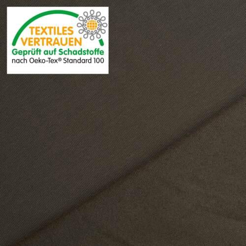 elastischer Jersey Stoff Öko-Tex® Baumwoll Jersey