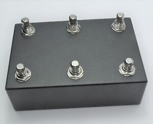 FS3-X2-Six-button-footswitch-pedal-for-Morningstar-FX-MC6-and-others-dual-FS3X