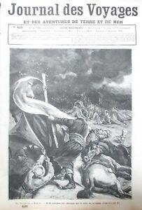 Zeitung-der-Voyages-Nr-439-von-1885-Storm-Desert-Samarkande-Ecole-Ship-2